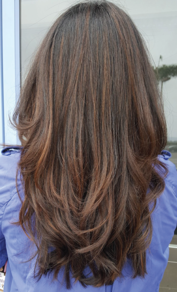 Subtle highlights with a fresh trimming of layers